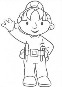 målarbok Bob the Builder (25)