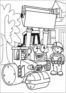 Disegno da colorare Bob the Builder (29)