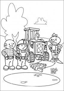 Disegno da colorare Bob the Builder (30)