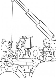 Disegno da colorare Bob the Builder (31)