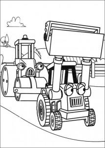 Disegno da colorare Bob the Builder (35)