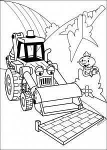 Disegno da colorare Bob the Builder (37)