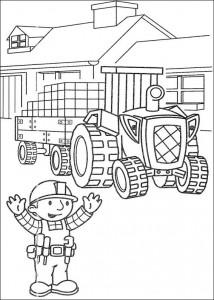 Disegno da colorare Bob the Builder (39)