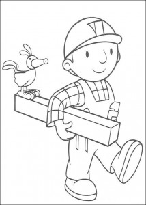 Disegno da colorare Bob the Builder (4)