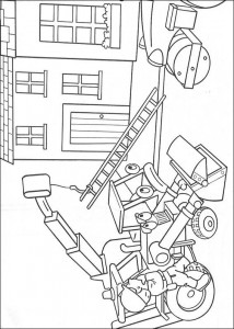 coloring page Bob the Builder (5)