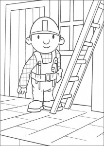Disegno da colorare Bob the Builder (6)