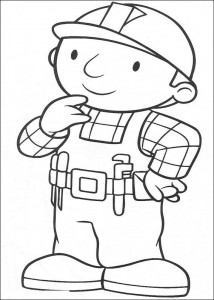 Disegno da colorare Bob the Builder (8)