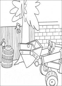 coloring page Bob the Builder (9)