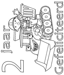 coloring page Bob and Muck 2 year