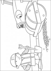 coloring page Bob and Rollie