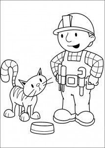coloring page Bob and Titus