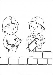 coloring page Bob and Wendy