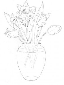 coloring page Bouquets (1)