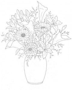 coloring page Bouquets (10)