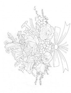 coloring page Bouquets (11)