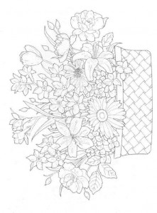 coloring page Bouquets (12)