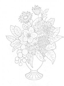 coloring page Bouquets (13)