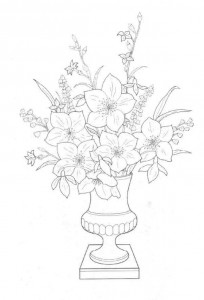 coloring page Bouquets (14)