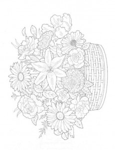 coloring page Bouquets (15)