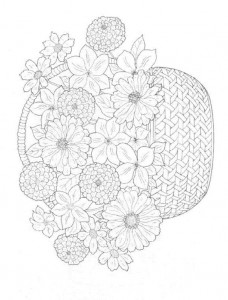 coloring page Bouquets (16)