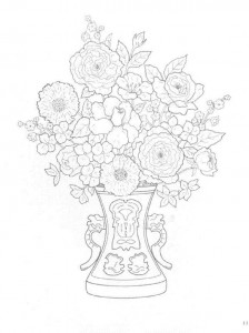 coloring page Bouquets (17)