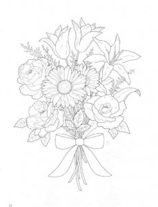 coloring page Bouquets (18)
