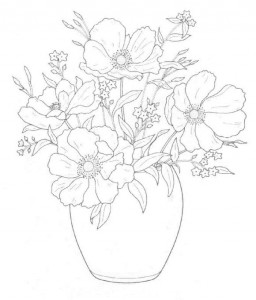 coloring page Bouquets (2)