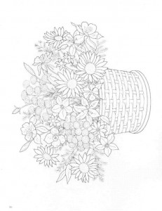 coloring page Bouquets (20)
