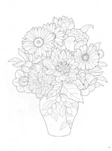 coloring page Bouquets (21)