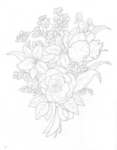 coloring page Bouquets (22)
