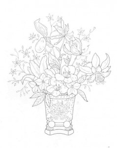 coloring page Bouquets (23)
