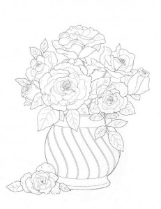 coloring page Bouquets (24)