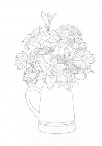 coloring page Bouquets (25)