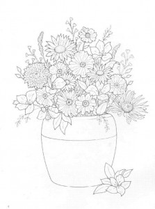 coloring page Bouquets (26)