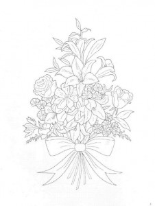 coloring page Bouquets (27)