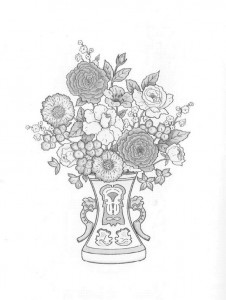coloring page Bouquets (28)