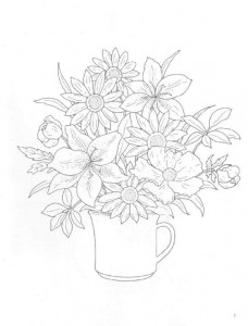coloring page Bouquets (29)