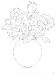 coloring page Bouquets (3)