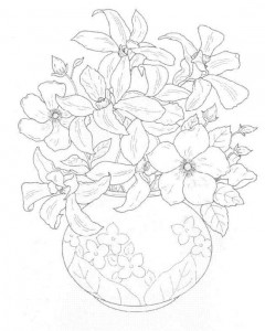 coloring page Bouquets (4)