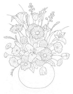 coloring page Bouquets (5)