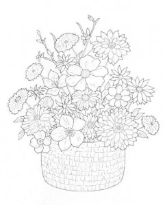 coloring page Bouquets (6)