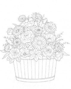 coloring page Bouquets (7)