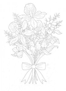 coloring page Bouquets (8)