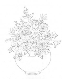 coloring page Bouquets (9)