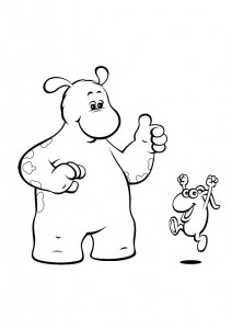 coloring page Bol and Smik (11)