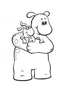coloring page Bol and Smik (12)