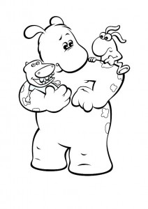 coloring page Bol and Smik (7)