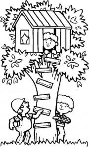 målarbok Trädhus (6)
