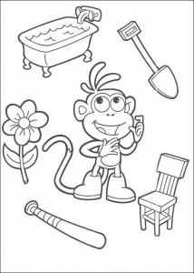 coloring page Boots (1)