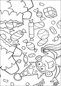 coloring page Boots is having a birthday! (2)